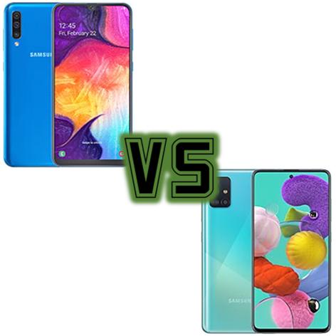 Samsung Galaxy A50,Samsung Galaxy A51,GalaxyA50,GalaxyA51,A50 oder A51 oder A50 gegen A51 gege...png