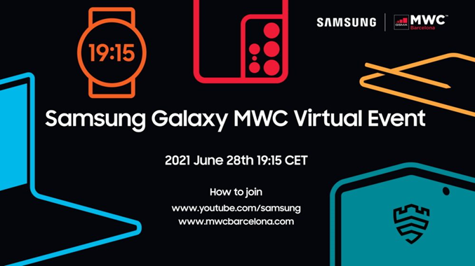 Samsung Galaxy Virtual Event Mobile World Congress Barcelona 2021 MWC Samsung Galaxy Z Fold 3 ...png