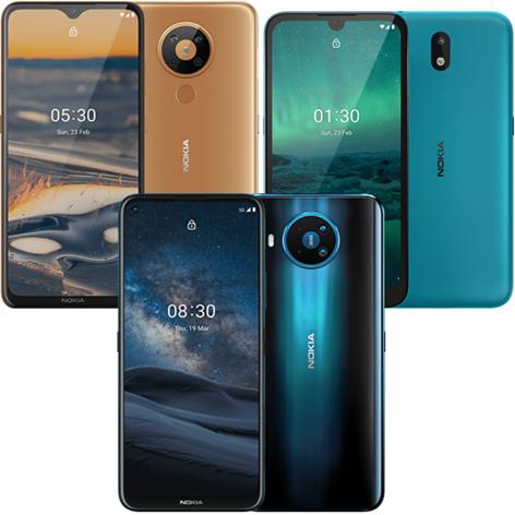Smartphones,Modelle,Nokia,1.3,5.3,8.3,5G,Nokia1.3,Nokia5.3,Nokia8.35G, Nokia 1.3,Nokia 5.3,Nok...png