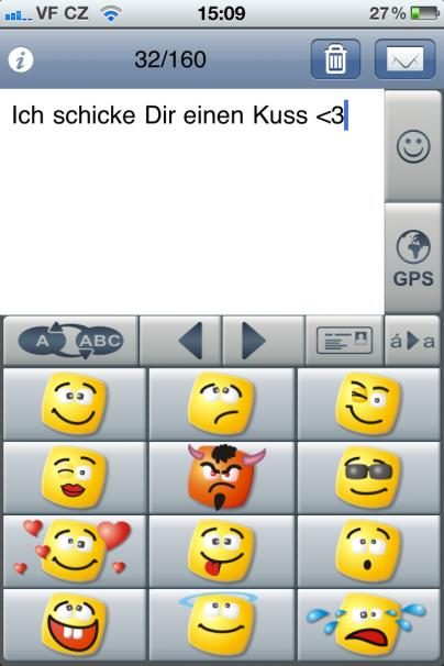 Sms kuss smiley
