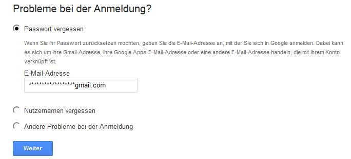 Passwort Zum Google Account Neu Anfordern Oder ändern So Gehts