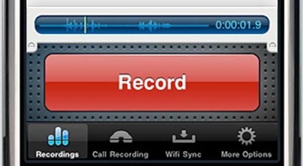 Iphone telefonate aufnehmen