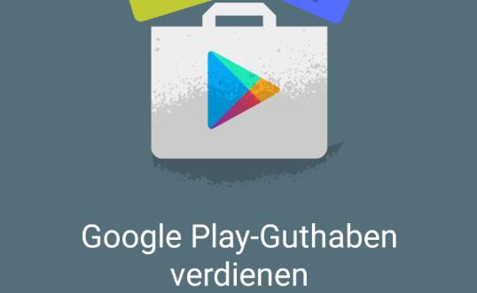 google umfrage app guthaben einlösen