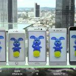 Galaxy S7 vs. iPhone 6s: Akkulaufzeit im Vergleich zu HTC, Huawei, LG und Sony