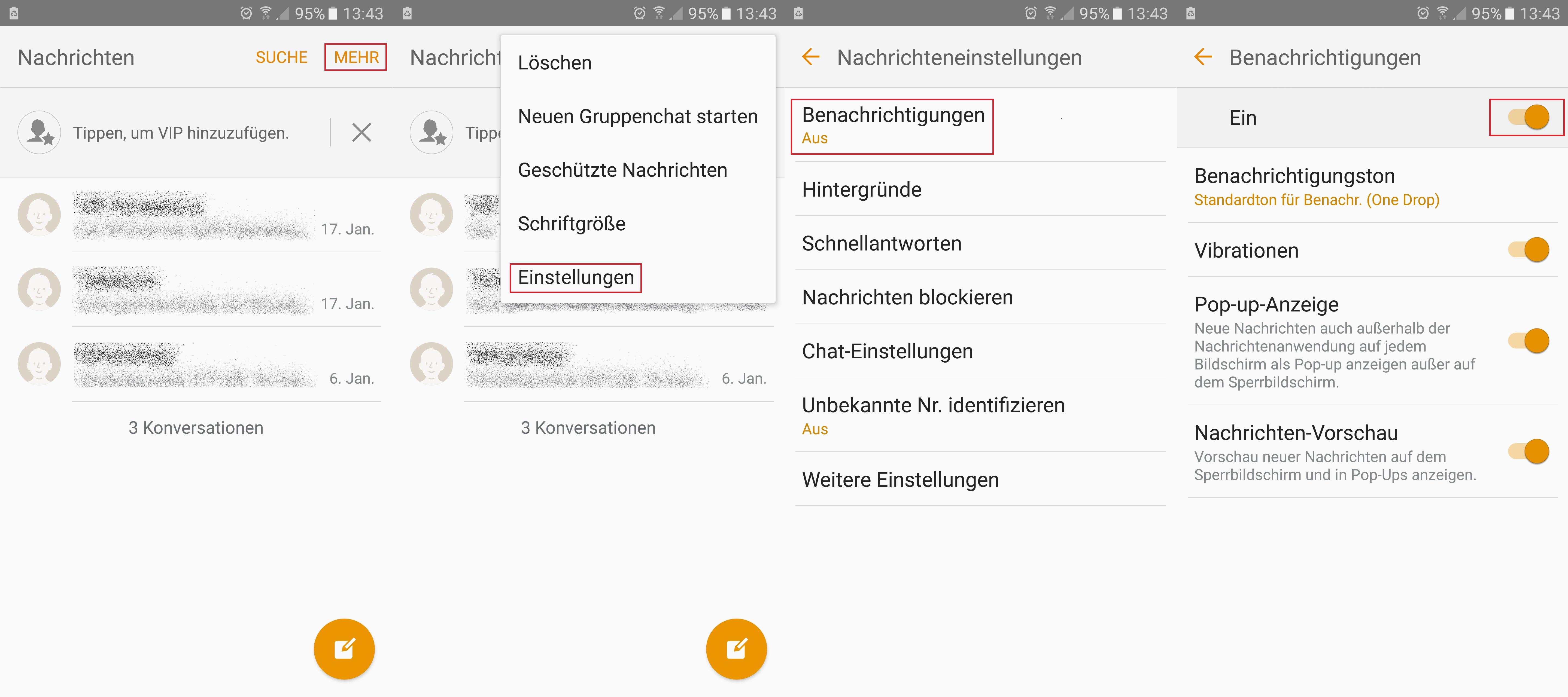 SMS kommt nicht an oder kann nicht gesendet werden – Lösungen