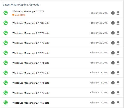 Alte Whatsapp Version Ohne Status Update Meldung Auf Android