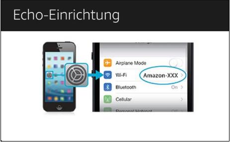 Amazon Echo oder Amazon Echo Dot über Alexa App einrichten ohne PC