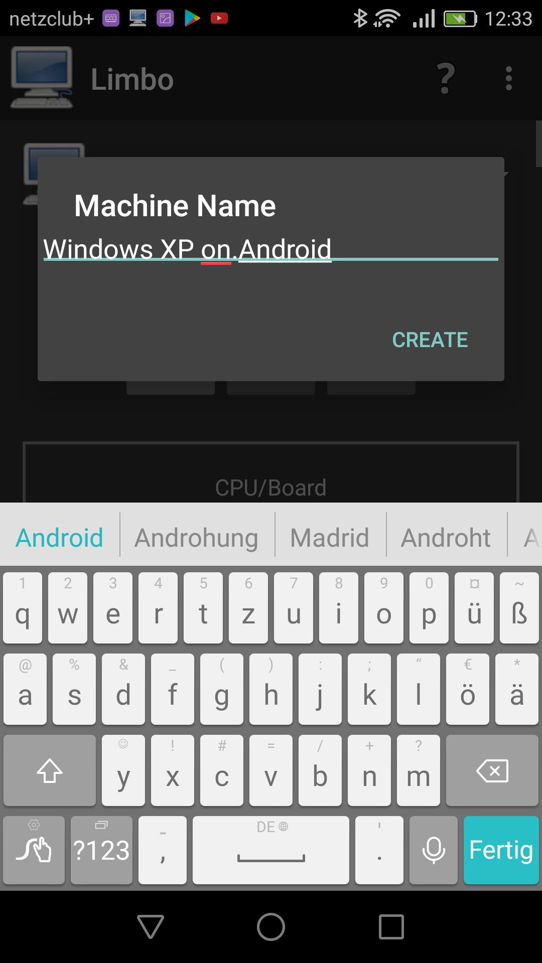 Windows XP, Windows 95, Windows 10 und mehr auf Android mit Limbo PC