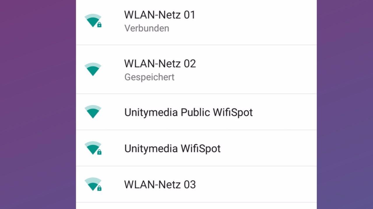 Unitymedia WifiSpot am Android Smartphone oder Tablet einrichten