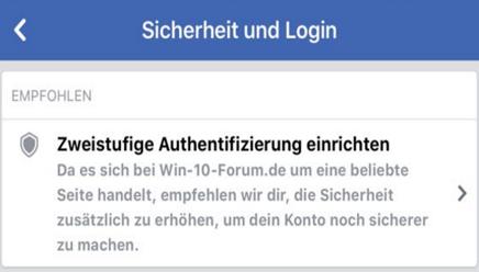 FacebookzweistufigeAuthentifizierungzweiphasenAnmeldungaktiviereneinrichtennutzenPINCod.png