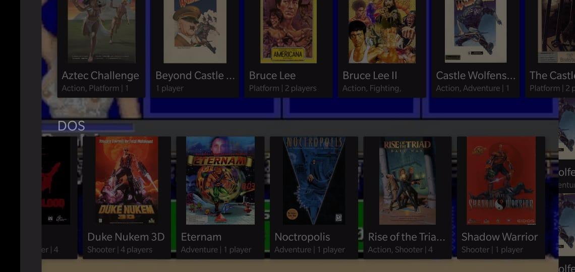 MS DOS Games aus Magic DosBox im ARC Browser hinzufügen - So