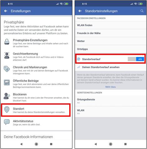 FacebookStandortStandortverlaufStandortfreigabeStandorteinstellungenEinstellungenFreundeK-1.png