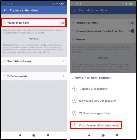 FacebookStandortStandortverlaufStandortfreigabeStandorteinstellungenEinstellungenFreundeK-2.png
