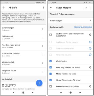 Google Assistant Routinen Erstellen Und Abläufe Mit Mehreren
