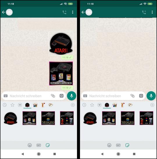 Whatsapp Eigene Sticker