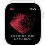Apple Watch 4 - So wird ein EKG erstellt
