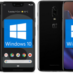 Windows 10 auf ARM auf OnePlus 6T und Google Pixel 3 XL lauffähig gezeigt, leider ohne Downloads