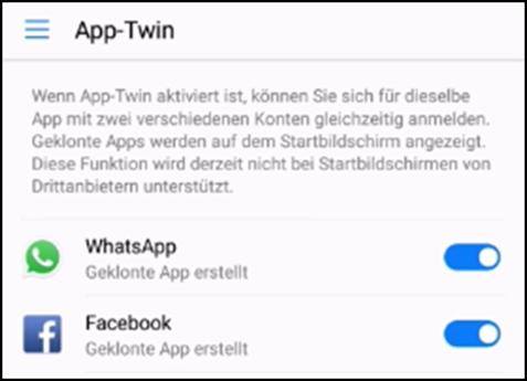 Huawei P30 (Pro, Lite) App-Twin verwenden - So leicht kann