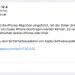 iOS, watchOS, tvOS - Updates verfügbar