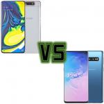 Samsung Galaxy A80 oder Samsung Galaxy S10 - Samsung Mittelklasse gegen Samsung High-End?